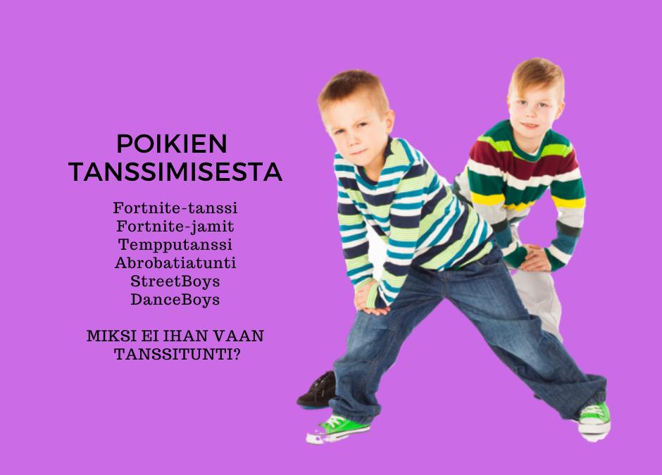 POIKIEN TANSSI —Fortnitesta tanssitunnille