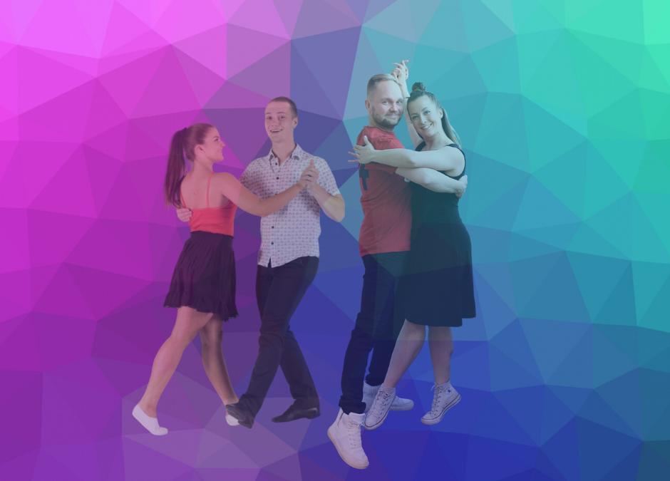 Tanssikurssilta hyvää oloa!