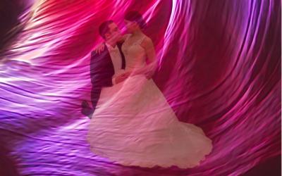 Häävalssi sitoo avioparin yhteen