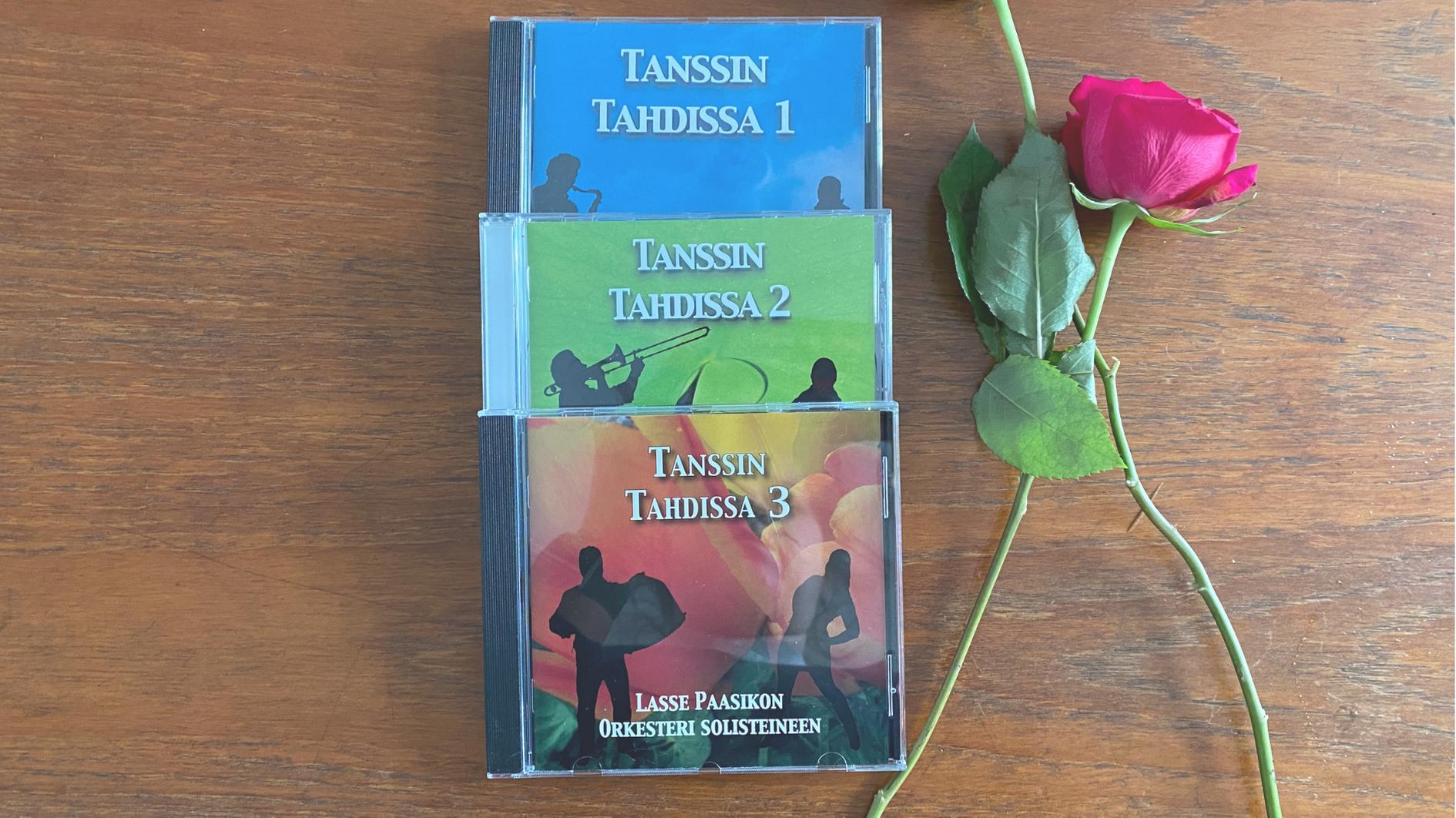 Tanssin Tahdissa CD kokoelma