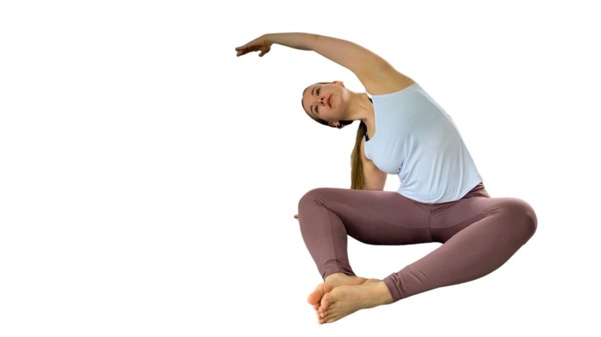 pilatesharjoittelua tanssijoille