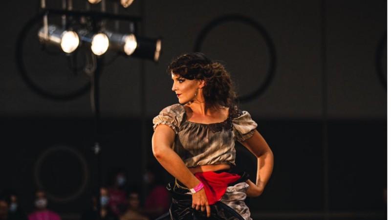 Anniina tanssija Latinoshow SM 2020