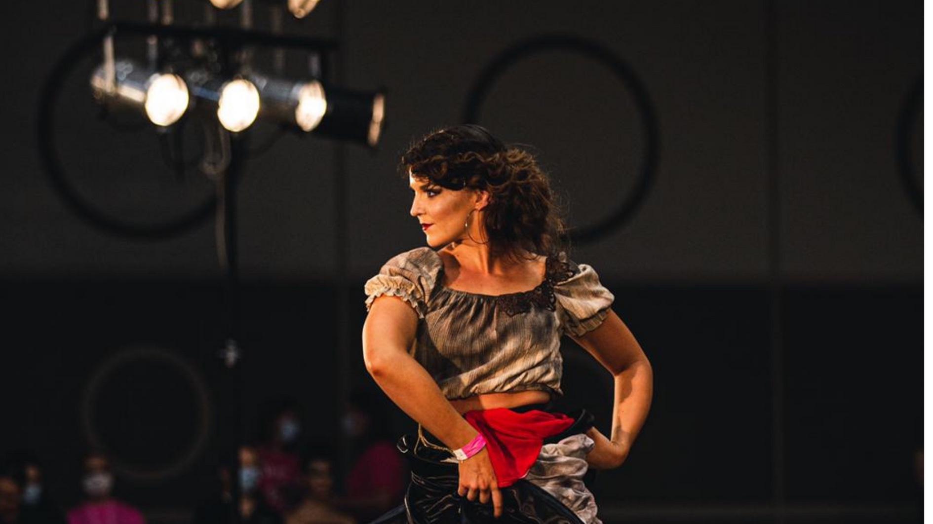 Anniina Koivuniemi tanssija Latinoshow SM 2020